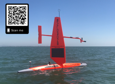Photo of Saildrone from Zhang et al. (2019).